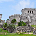 Tulum Mayan Ruins by Glenn Gordon