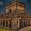 Tulum Temple by John M Bailey
