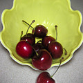 Tumbling Cherries by Lucyna A M Green