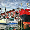 Tuna Fishing In Gloucester by David Vincent