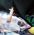 Tuna Head In Venice by Michael Henderson