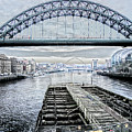 Tyne Bridge, Newcastle by Gordon Ball