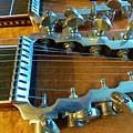 Tuning Pegs On Sho-bud Pedal Steel Guitar by Rosanne Licciardi