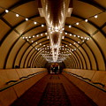 Tunnel Abstract by Arlane Crump