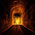 Tunnel Sparks by Pelo Blanco Photo