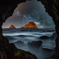 Tunnel View Nights by Darren White