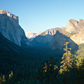 Tunnel View Yosemite Valley California by George Oze