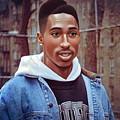 Tupac Shakur Drawing by Jovemini ART