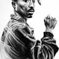 Tupac Shakur by Darryl Matthews