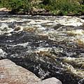 Turbulent Dalles Rapids by Debbie Oppermann