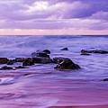 Turbulent Daybreak Seascape by Merrillie Redden