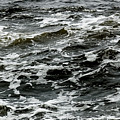 Turbulent Water Near The Shore by Todd Gipstein