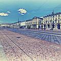 Turin, Square Vittorio. by Adriano Bussi