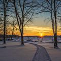 Turn Left At The Sunset by Randy Scherkenbach