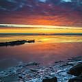 Turnagain Arm Sunset by Scott Slone