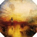 Turner Joseph Mallord William The Exile And The Snail Joseph Mallord William Turner by Eloisa Mannion