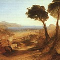 Turner Joseph The Bay Of Baiae With Apollo And The Sibyl Joseph Mallord William Turner by Eloisa Mannion