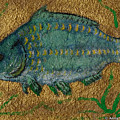 Turquoise Carp by Anna Folkartanna Maciejewska-Dyba