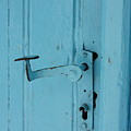 Turquoise Door 02 by Yvonne Ayoub