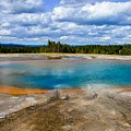 Turquoise Pool, Yellowstone by Marilyn Burton