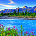 Turquoise River by Scott Mahon