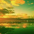 Turquoise Sunrise by Unsplash