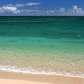 Turquoise Water Of Kanaha Beach Maui Hawaii by Pierre Leclerc Photography