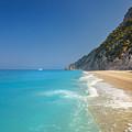 Turquoise Water Paradise Beach by Sandra Rugina