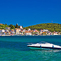 Turquoise Waterfront Of Rogoznica Tourist Destination by Brch Photography