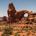 Turret Arch Arches National Park Utah by Lawrence S Richardson Jr