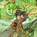 Turtle Dove Tree by Carol Cavalaris