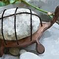 Turtle Full Of Rocks by Debra Baldwin