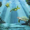Turtle Reef by Kris Crollard
