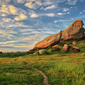 Turtle Rock At Sunset by Endre Balogh