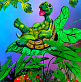 Turtle Trampoline by Hanne Lore Koehler