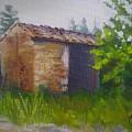Tuscan Abandoned Farm Shed by Chris Hobel