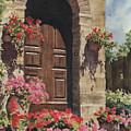 Tuscan Door by Sam Sidders