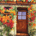 Tuscan Door by Sherry Burnett