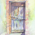 Tuscan Doorway by Marsha Karle