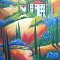 Tuscan Hills by Charles Vaughn