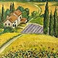 Tuscan Italy by Aysel Mekhtieva