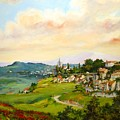 Tuscan Landscape by Tigran Ghulyan