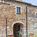 Tuscan Old Stone Building by Sally Weigand