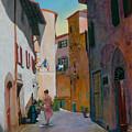 Tuscan Street by Robert Bissett