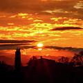 Tuscan Sunset by Alessandro Landi