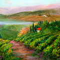Tuscan Vista by Sally Seago