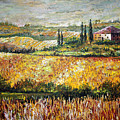 Tuscan Wheat by Lou Ann Bagnall