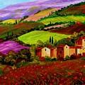 Tuscany Landscape by Inna Montano