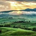 Tuscany Sunburst- by Laurent Fox