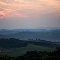 Tuscany Sunset 2 by Luigi Barbano BARBANO LLC